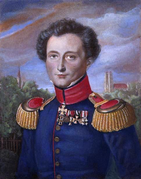 """Carl von Clausewitz, 1780-1831, Verfasser des Werks """"Vom Kriege"""""""