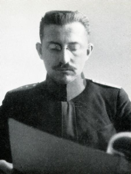 Major i Gst Scherrer Walter, April 1917 bis November 1918