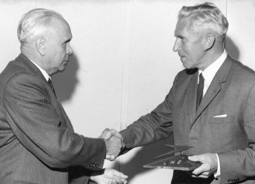 Fritz und Christian Gerber, 1968