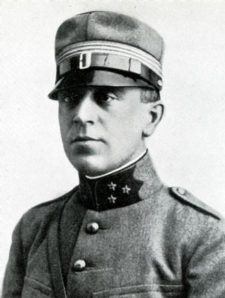 Hauptmann i Gst Schleppy Marc, Oktober 1916 bis März 1917