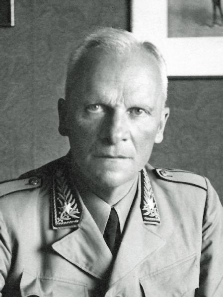 Oberstdivisionär Bandi Hans, Oktober 1936 bis 1943