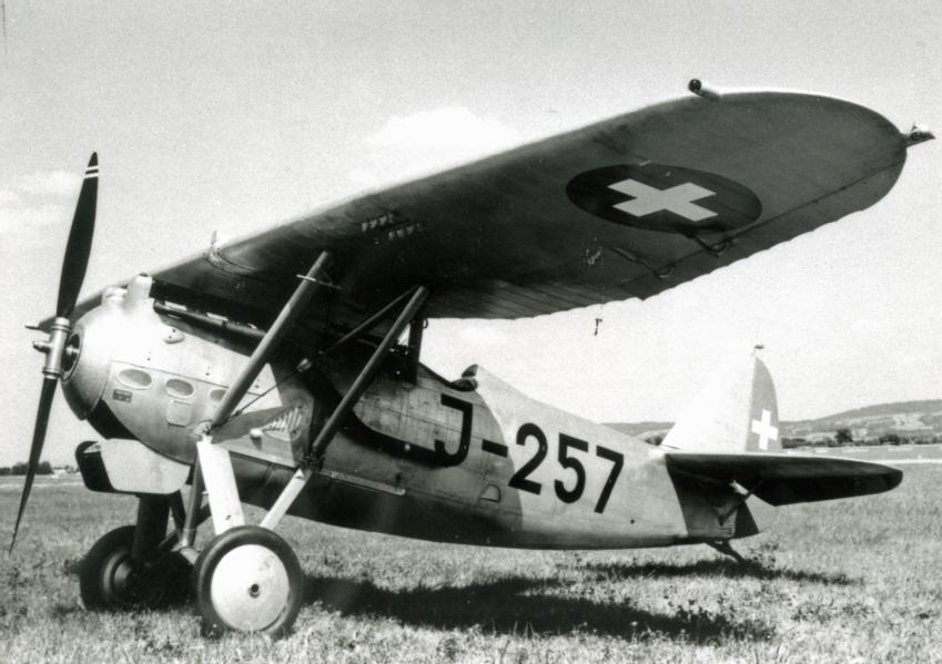 Das Flugzeug Dewoitine D-27 III, 1932 - 1944