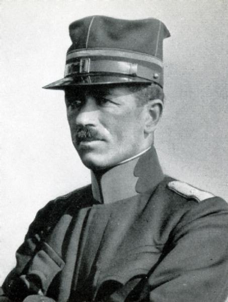 Hauptmann i Gst Real Theodor, 31.07.1914 bis Oktober 1916
